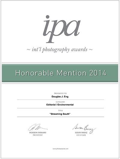 IPA Certificate 2014